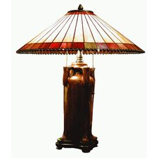 Tiffany 1 Light Vase Table Lamp