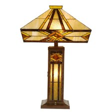 Tiffany 3 Light Table Lamp