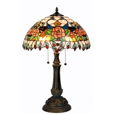 Tiffany 2 Light Table Lamp