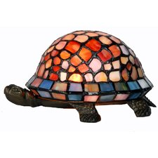 Tiffany 1 Light Turtle Table Lamp
