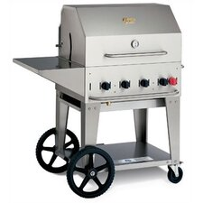 """30"""" Natural Gas Grill On Cart"""