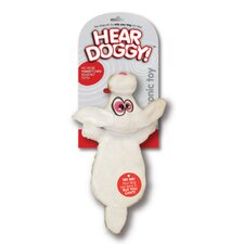 <strong>Hear Doggy</strong> Flat Dog Toy Rabbit