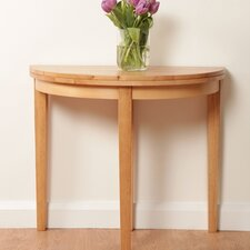 Athens Half Moon Console Table