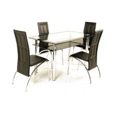 <strong>Elements</strong> Ella 5 Piece Dining Set
