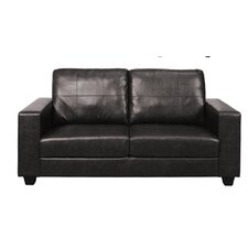 Maine Faux Leather Sofa