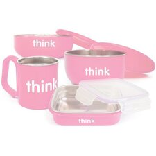 <strong>ThinkBaby</strong> Complete 4-Piece BPA Free Feeding Set