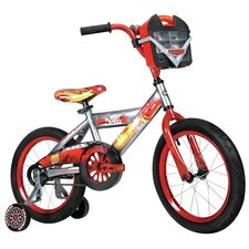 "Disney Cars Boy's 16"" Balance Bike with Car Case"