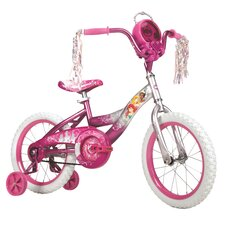 "Disney Princess Girl's 16""  Balance Bike with Jewel Case"