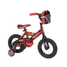 "<strong>Huffy</strong> Boy's 12"" Disney Cars Cruiser Bike with Training Wheels"