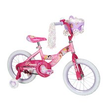 "Girl's 16"" Disney Princess Cruiser Bike with Training Wheels"