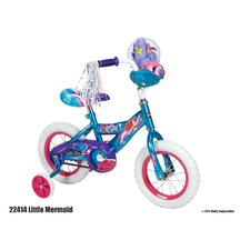 "Disney Girl's 12"" The Little Mermaid Road Bike"
