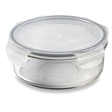Glasslock 4-Cup Tempered Glass Container with Sealed Lid