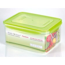 Premium 112-oz.Rectangle Food Storage Container with Moisture Rack