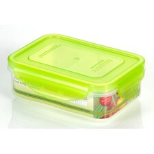 Premium 12-oz. Rectangle Food Storage Container with 2 Removavle Divider