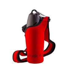 Neosling Adjustable Bottle Holder in Racecar Red