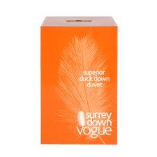 Home Range Duck Down 9 Tog Duvet