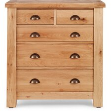 Normandy 2 Over 3 Drawer Chest