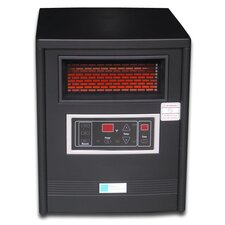 1500 / 750 Watt Infrared Cabinet Space Heater with Remote Control