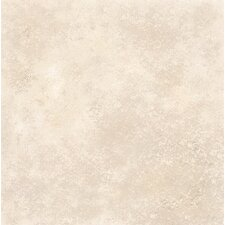 "DuraCeramic Terano 15"" x 15"" Vinyl Tile in Bisque Stone"