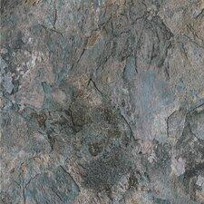 """DuraCeramic Sierra Slate 15.63"""" x 15.63"""" Vinyl Tile in Blue Slate"""