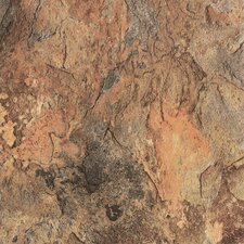 """DuraCeramic Sierra Slate 15.63"""" x 15.63"""" Vinyl Tile in Terra Slate"""