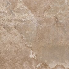 "DuraCeramic  Rustic Stone 15.63"" x 15.63"" Vinyl Tile in Light Beige"
