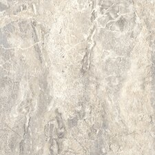 "DuraCeramic Roman Elegance 15"" x 15"" Vinyl Tile in Light Greige"