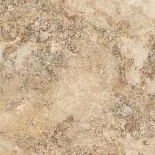 "DuraCeramic Rapolano 15.63"" x 15.63"" Vinyl Tile in Bisque"