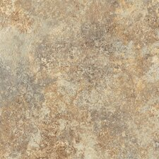 "DuraCeramic Rapolano 15.63"" x 15.63"" Vinyl Tile in Desert Chimney"