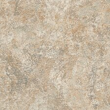 "DuraCeramic Mercer 15.63"" x 15.63"" Vinyl Tile in Fired Greige"