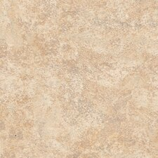 "DuraCeramic Mercer 15"" x 15"" Vinyl Tile in Fired Bisque"