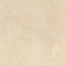 "DuraCeramic Heirloom 15.63"" x 15.63"" Vinyl Tile in Bisque"