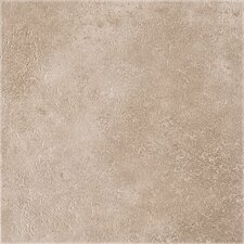 "DuraCeramic Earthpath 15.63"" x 15.63"" Vinyl Tile in Smokey Clay"
