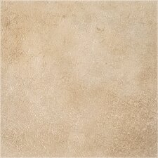 "DuraCeramic Earthpath 15.63"" x 15.63"" Vinyl Tile in Sandy Clay"