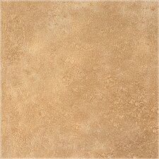 "DuraCeramic Earthpath 15.63"" x 15.63"" Vinyl Tile in Golden Clay"