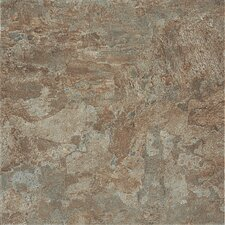 "DuraCeramic Dreamscape 15"" x 15"" Vinyl Tile in Earthen Green"