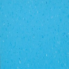 "<strong>Congoleum</strong> Alternatives 12"" x 12"" Vinyl Tile in Cloud Blue"