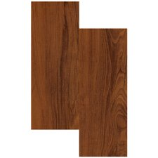"Endurance 6"" x 36"" Vinyl Plank in Gunstock"