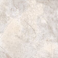 "Ovations Sunstone 14"" x 14"" Vinyl Tile in Stone White"