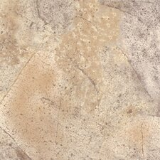 "Ovations Sunstone 14"" x 14"" Vinyl Tile in Earthen Brown"