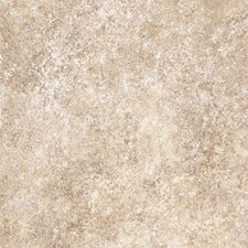 "Ovations  Stone Ford 14"" x 14"" Vinyl Tile in Almond"
