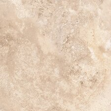 "<strong>Congoleum</strong> Ovations Alabaster 14"" x 14"" Vinyl Tile in Light Mocha"