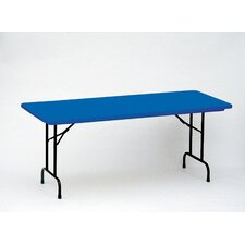 <strong>Correll, Inc.</strong> Bright Color Plastic Folding Table