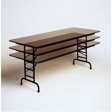 <strong>Correll, Inc.</strong> Adjustable Height Small Melamine Folding Tables