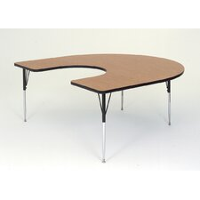 Horseshoe Activity Table with Standard Legs