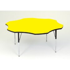 Flower Shaped Activity Table with Short Legs