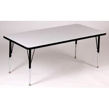 <strong>Correll, Inc.</strong> Rectangle Activity Table with Grey Granite Top