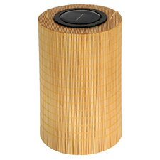 Bamboo 1 Light Round Garden Light (Set of 2)