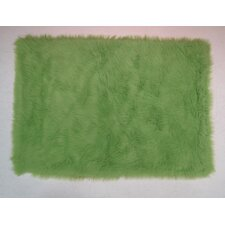 Lime Green Kids Rug