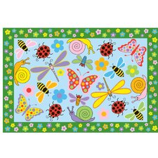 Fun Time Exotic Creatures Kids Rug